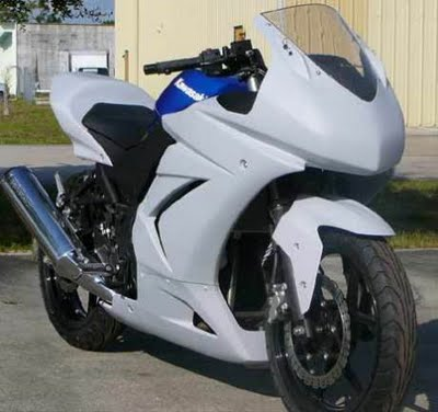 Photo Kawasaki Ninja 250r Modif