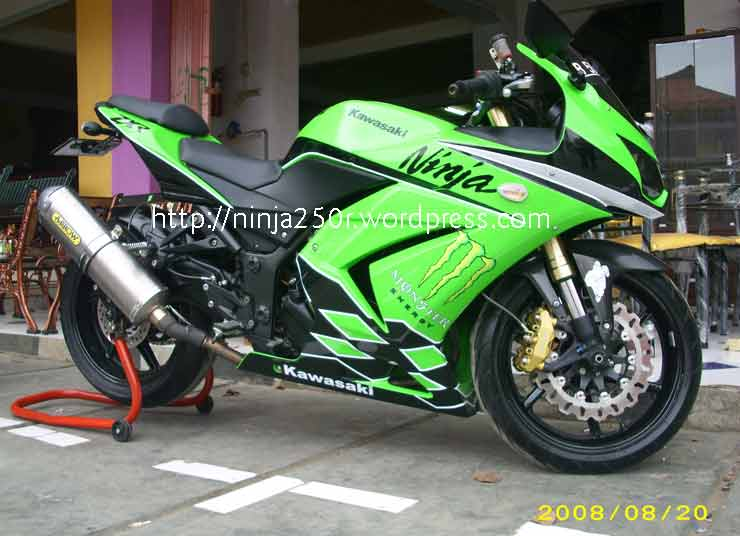 Photo of Gambar Ninja 250 Modif