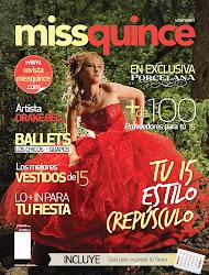 Colaboramos en la Portada de la revista MissQuince