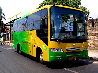 Let's Get In Yogya By Bus