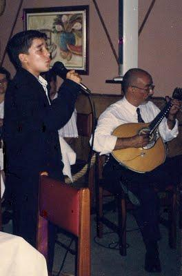 Guitarra Portuguesa Mário Rui e Tiago Filipe aos 12 anos.