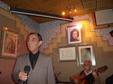 Antonio Carlos ,pai de Tiago Filipe,fadista do Restaurante Alfama dos Marinheiros...São Paulo