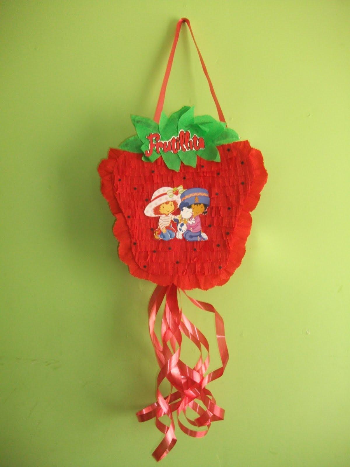 Blogs de Todo: Piñata Frutillita