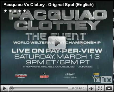 pacquiao vs clottey live pay per view