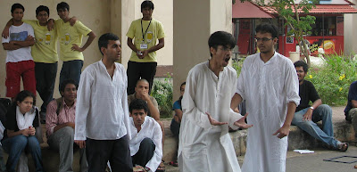 Rasagy Sharam aka RaSh in Street Play in Zephyr'08