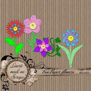 http://lauriemademescraps.blogspot.com/2009/05/fun-paper-flowers-elem-freebie.html