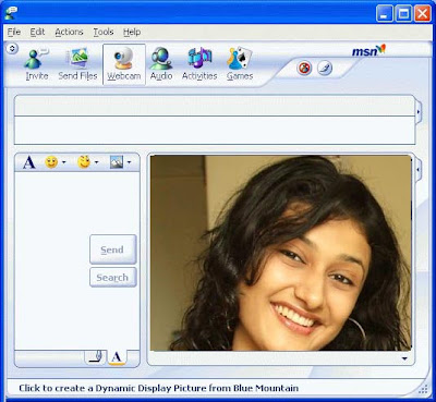 Fake Webcam In Windows Live Messenger