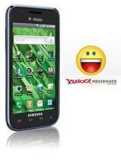 Yahoo Messenger for Samsung Galaxy S Vibrant SGH t959