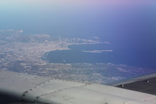 Riviera from plane