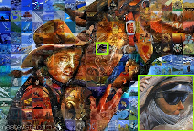 Mural mosaic impresionantes pinturas mosaico nestavista for El mural trailer