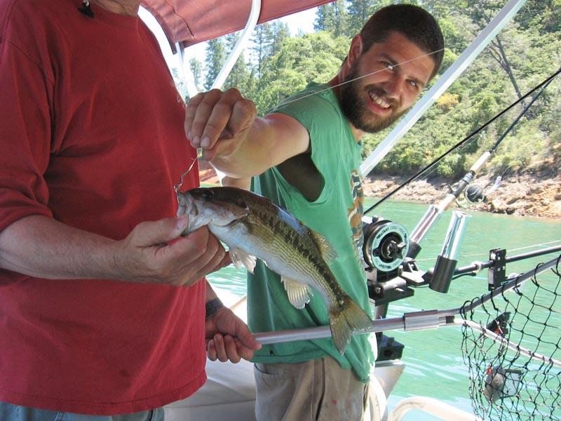 The reel fishing report fishing around shingletown lake for Lake shasta fishing report