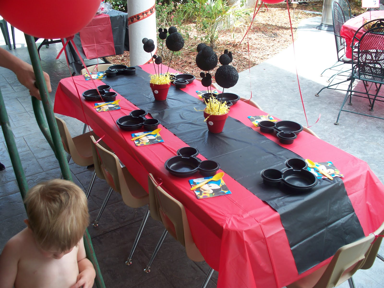 & The Blairs: A Mickey Mouse 2nd Birthday Party