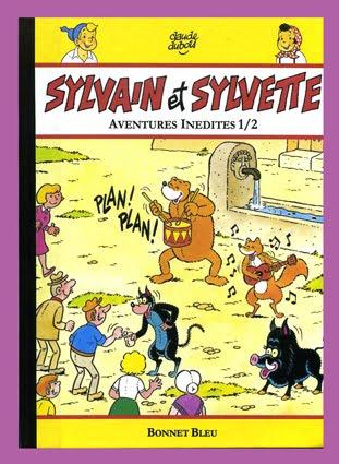 """DEUX """" SYLVAIN ET SYLVETTE """" INEDITS EN ALBUMS."""" Ils sont tous les deux disponibles ."""