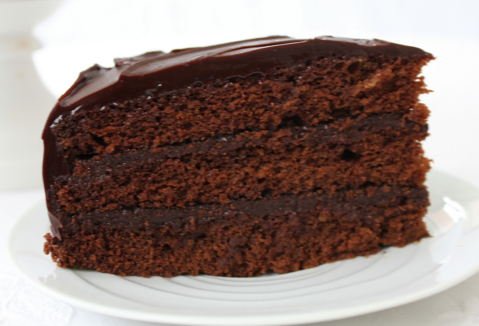 Triple Layer Cocoa Cake