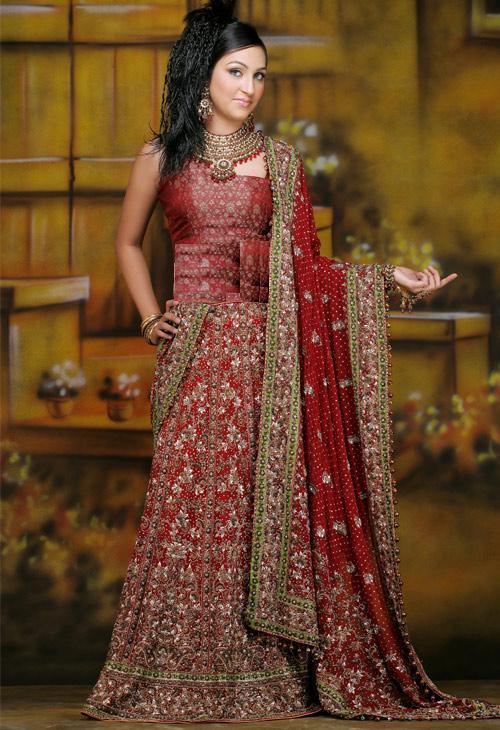 15692 Pakistani Bridal Dresses