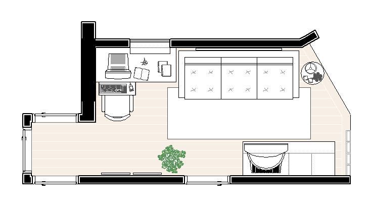Sala De Tv Planta Baixa ~  Larissa Schirmanoff  design de interiores Decoração em Apartamento