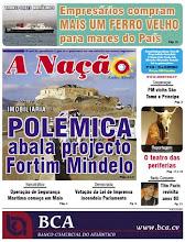 JORNAL A NAÇÃO (CABO VERDE) n. 134 - 25/03/2010
