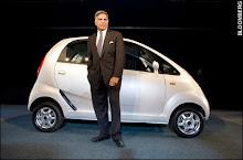Mr.Ratan Tata with Nano