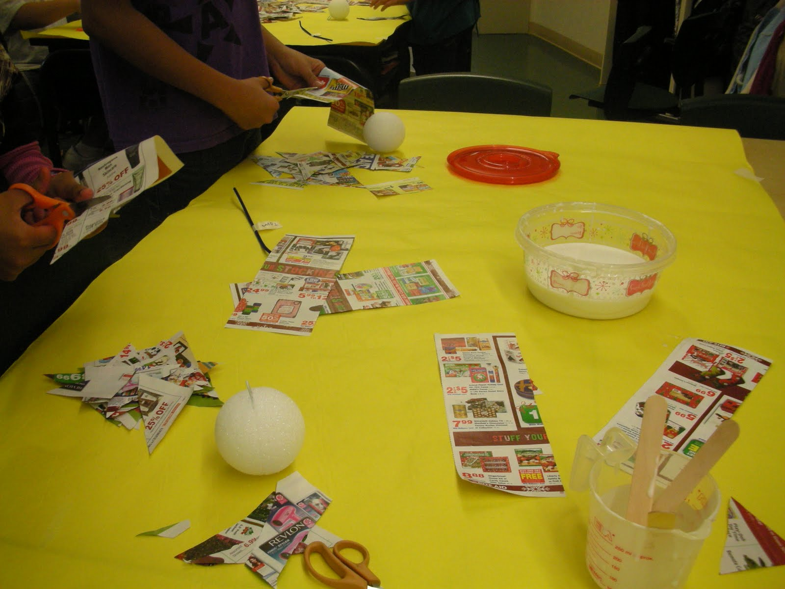 Students rock the Simple Gifts globe project | word.