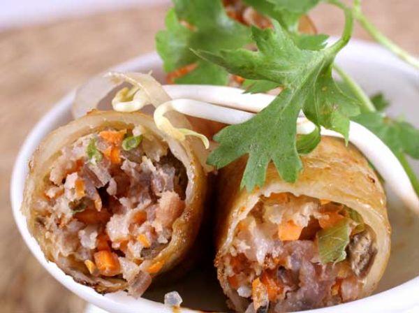 Saveurs metisses plats du vietnam Nems vietnamiens