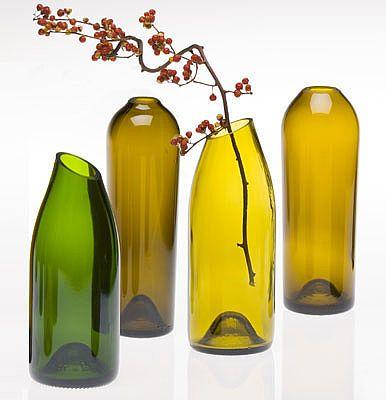 Habitat indoors floreros botellas vidrio - Fabrica de floreros de vidrio ...