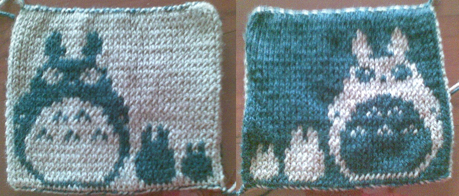 Nerdcrafts Totoro Double Knit Potholder
