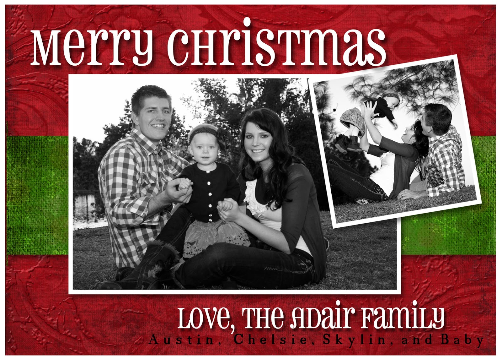 family Christmas Card