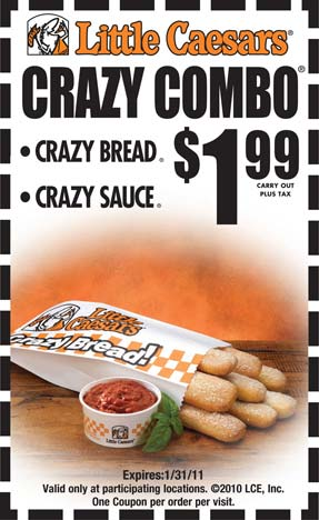 Little Caesars is a major family restaurants retailer which operates the website withtran.ml of today, we have no active coupons. The Dealspotr community last updated this page on February 7, Little Caesars has an average discount of 20% off and an average time to expiration of 60 days/5(8).