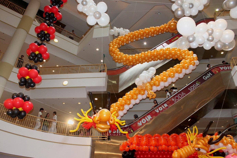 Xing Fu Majestic Balloon Dragons