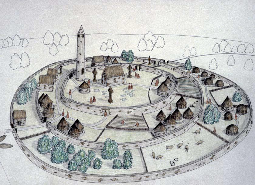 Como se vive en...la Britania celta (en construcción) Celtic+village