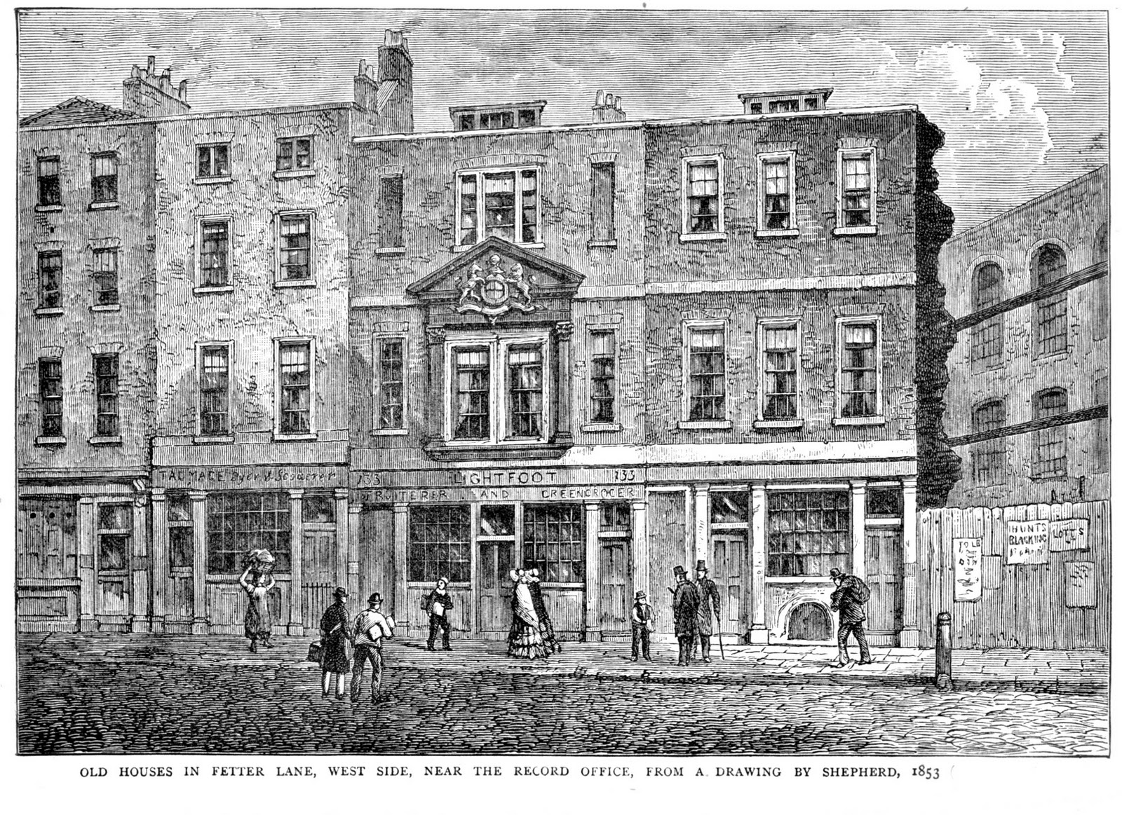 The family recorder shopping saturday old houses in for Bureau fetter lane