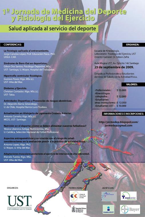 jornada medicina deportiva UST Santiago