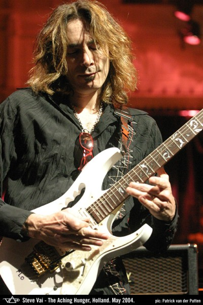 Ibanez Guitar with Steve Vai