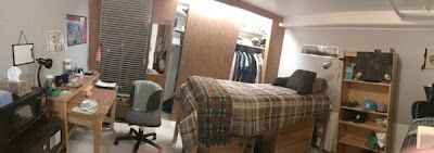 Pano Shot Of My Side Of The Dorm Room.