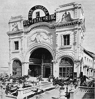 Rare Unseen Picture of Karachi Theatre