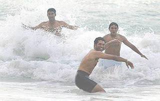 Indian Cricketers rare image
