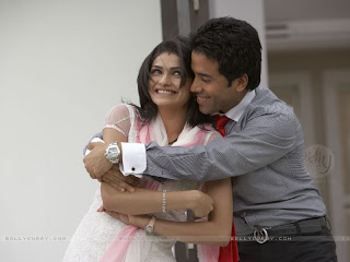 Photo of Indian Couple Hugging for a mark of Love