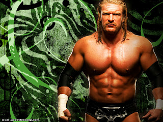 WWE superstar triple h exclusive image