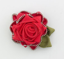 Antique Red Rose