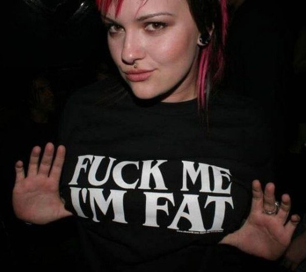 fat girl tshirt
