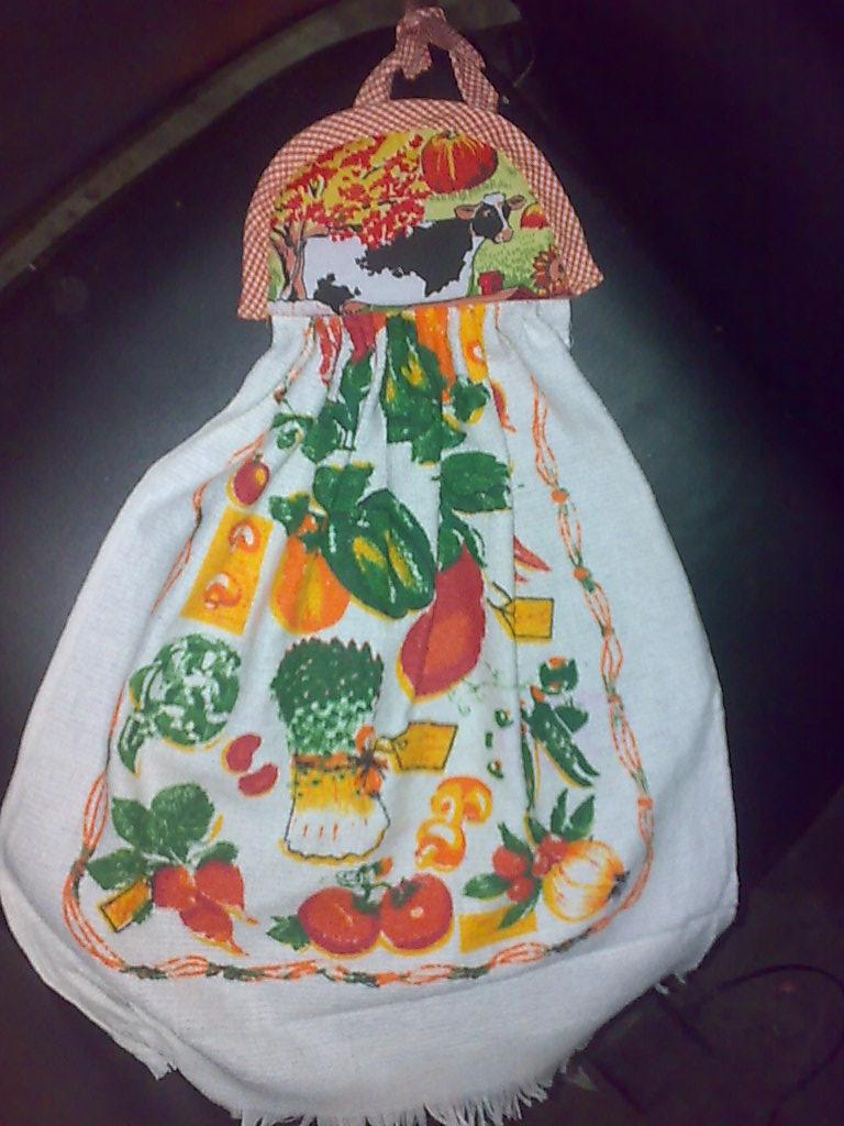 Imagenes De Lenceria De Baño De Navidad: infaltable Pañito de Cocina, para colocarlo en la puerta de la nevera