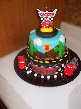 Cars Theme 3rd Birthday