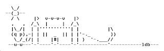 Dragon ASCII Art