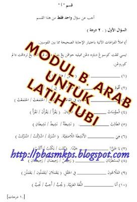 Modul Bahasa Arab Untuk Latih Tubi 1