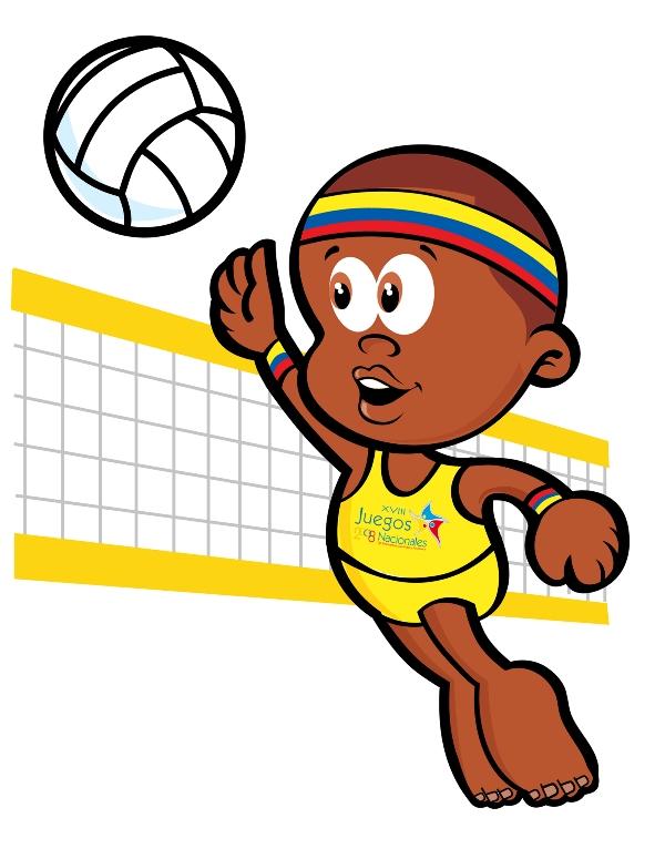 juego de volleyball:
