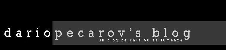 dariopecarov's blog