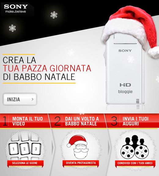Facebook italia crea la tua pazza giornata di babbo natale for Crea la tua planimetria online