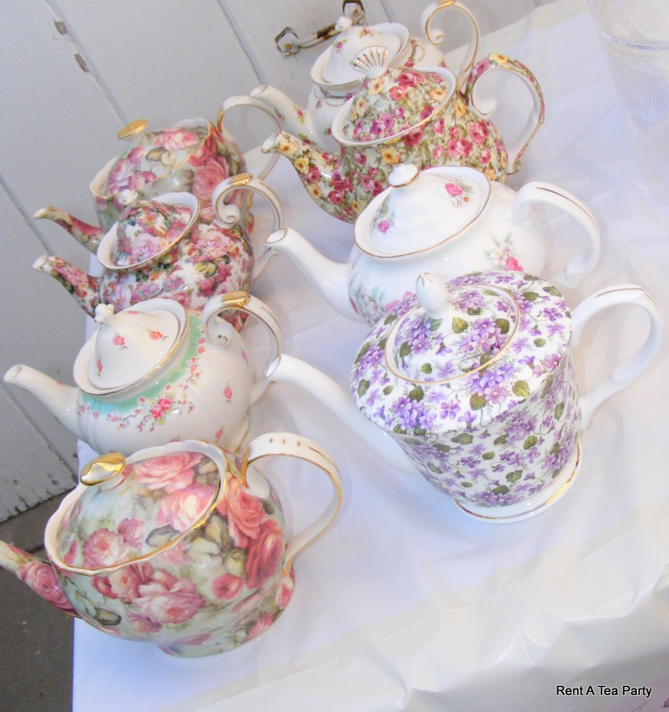 rent a tea party baby shower tea party