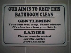Funny Bathroom Signs Images Pictures Becuo