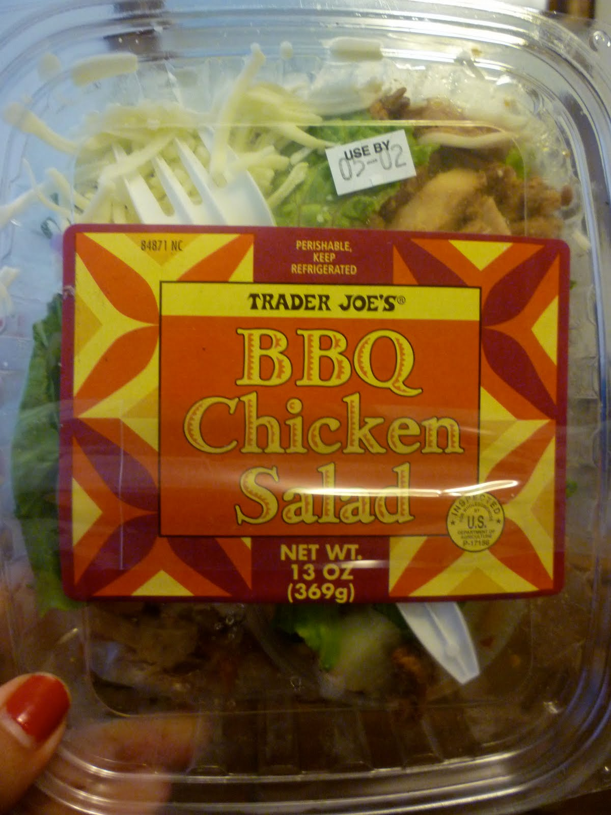 Classy Eats Trader Joe S Bbq Chicken Salad